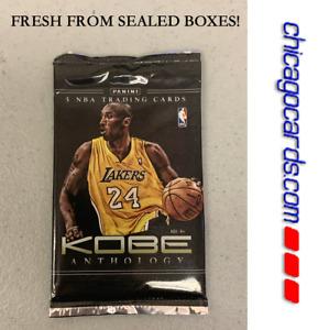 2012-13 Panini Kobe Bryant Anthology BoxTopper Pack 5 Kobe Cards Look4 AUTO Gold