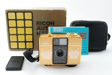 RARE Vintage Ricoh Auto Half E 25mm f/2.8 Camera Flower Gold  [Exc++] by FedEx