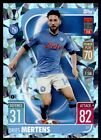 Match Attax (CRYSTAL PARALLEL) 2021/22 - Dries Mertens (SSC Napoli) No. 377