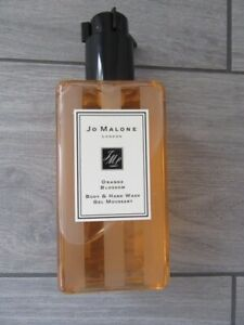JO MALONE ORANGE BLOSSOM BODY & HAND WASH GEL MOUSSANT, NEW, 8.5 FL OZ