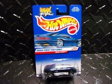 2000 Hot Wheels #80 Blue Mazda MX48 Turbo w/PR5 Wheels
