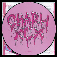 CHARLI XCX Sucker LP PICTURE DISC with STICKERS New UNPLAYED Boom Clap