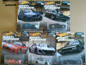 Hot Wheels Fast & Furious Full Force  Lot 5  ( NG134-135)