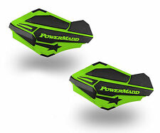 PowerMadd Sentinel Series Replacement ATV Handguards Guards Green Black 34403