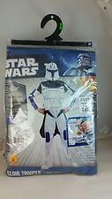 Star Wars Clone Wars Clone Trooper  Captain Rex Costume Size Boy Medium
