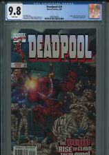 Deadpool 29 CGC 9.8 1999 Joe Kelly Uncanny X-Force Cable X-Men New Mutants