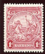 Barbados 1939 KGVI 1d scarlet (p13½x13) ex coil MLH. SG 249. Sc 194b.