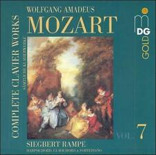 Mozart: Complete Clavier Works, Vol. 7, New Music
