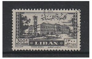 Lebanon - 1947, 300p Palace stamp - Used - SG 351