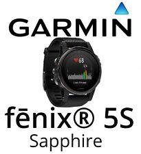 Garmin Fenix 5S Saphir Schwarz GPS Uhr Schwarz Band Multi Sport Handgelenk HR