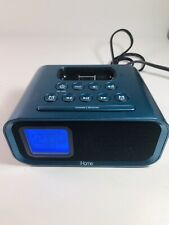 iHome iH22 Colortunes iPod Docking Station Dual Alarm Clock Blue