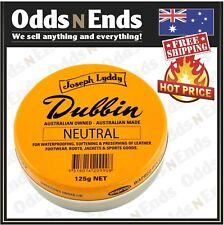 Original Joseph Lyddy Dubbin Neutral 125g HOT PRICE....Australian Made!