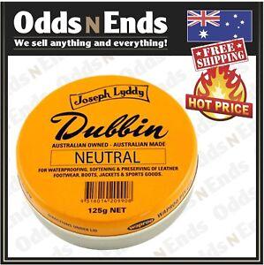 Dubbin Genuine Joseph Lyddy  Neutral 125g HOT PRICE....Australian Made!