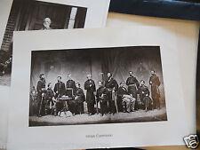Mathew Brady Portfolio of Eminent Americans 12 Photographs The National Archives