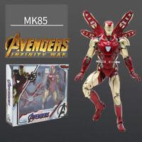 """TOYS Armored MK85 Iron Man Avengers Endgame Marvel 7"""" Action Figure mark 85"""