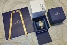 Swarovski Daytime Beige Watch (5130547) With 48 Crystals Gift Bag