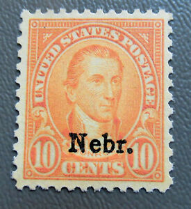 US 1929 10¢ Monroe Nebraska Stamp #679 in MNH condition CV $125