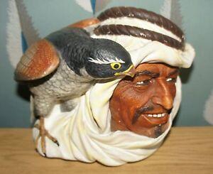 VINTAGE BOSSONS CHALK HEAD DESERT HAWK ARAB & FALCON BIRD
