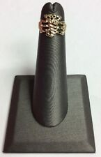 10K REAL YELLOW GOLD Small Baby Scorpion Design Band RING SZ 2 / 1.3g