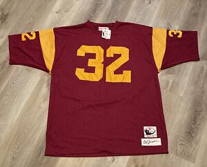 OJ Simpson USC Trojans 1978 throwback Jersey Mitchell & Ness Size 60