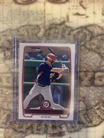 2012 Bowman Bryce Harper #bp10 Rookie Baseball Card
