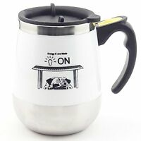 Self Stirring Cold&Hot Coffee Mug Auto Electric Mixer Tea Sugar Travel Cup