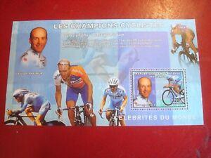 CONGO - 2006 LEIPHEIMER (CYCLIST) -  MINISHEET - UNMOUNTED MINT MINIATURE SHEET