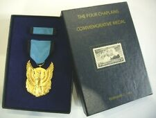 THE FOUR CHAPLAINS COMMEMORATIVE MEDAL