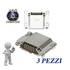 3X CONNETTORE RICARICA MICRO USB PORTA DATI CARICA SAMSUNG GALAXY S3 NEO I9301