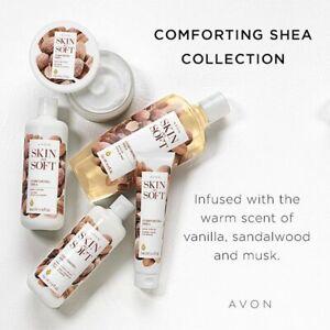 AVON Skin So Soft Comforting Shea DeLuxe Bath & Body Set