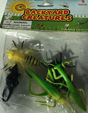 Backyard Creatures -5 pack plastic insect creatures