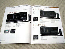 Pioneer 1999 full audio/video product line brochure