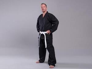SV Anzug TORNADO schwarz 12Oz. 180 od.190cm. Judo, BJJ, Selbstverteidigung, usw.