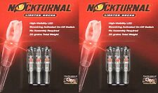 Rage Nockturnal-H Lighted Nocks 6pk Red 2xNT-402 #2x01027 DoubleTake