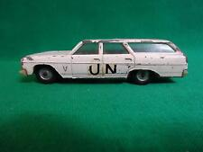 EXTREMELY RARE GAMDA KOOR SABRA ISRAEL  UN CHEVELLE AMBULANCE CAR 1964 Maliu VTG