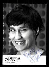Sandra Keck Autogrammkarte Original Signiert # BC 70975