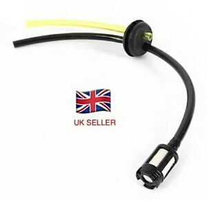 Strimmer Fuel Pipe Hose Tube With Tank Filter assy & Grommet - UK