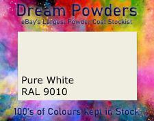 RAL 9010 Pure White Powder Coat Alloy Wheel Refurbishment Coating