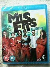 73662 Blu-ray - Misfits Series Four [NEW / SEALED]  2012  C4BD50038