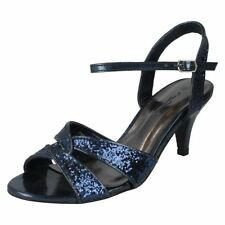 Scarpe da donna cinturini , cinturini alla caviglia blu Numero 37