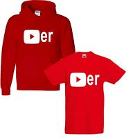 YouTuber Player T-shirt Hoody Gaming Gift Viral Adults Kids T-Shirt Fortnight