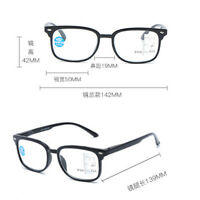 Progressive Varifocal Reading Glasses +1.00 +1.50 +2.00 +2.50 +3.00 Optical Lens