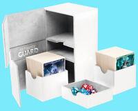 ULTIMATE GUARD TWIN FLIP n TRAY WHITE 160+ XENOSKIN DECK CASE Game Card Box MTG