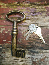 More details for handmade solid brass ottoman key, 6.30