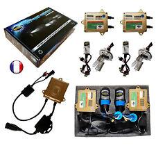 ► Kit HID Xénon VEGA® 55W 2 ampoules H4 HI 10000K Canbus ODB Marque Française ◄