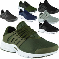 MENS LACE UP SPORTS GYM FITNESS RUNNING FLEXIBLE TRAINERS CASUAL SHOES UK SIZE