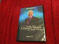 """COFFRET 2 DVD NEUF """"VOYAGE DANS L'ESPACE-TEMPS - SAISON 6"""" avec Morgan FREEMAN"""