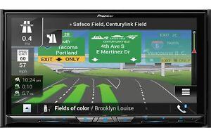 Pioneer AVIC-W8400NEX RB 2 DIN DVD Player GPS Bluetooth HD WiFi CarPlay Android