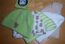 New Gerber Neutral 5 Pack Hats, Baby Shower, Newborn