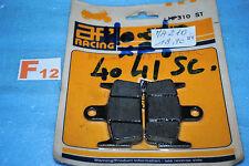 2 plaquettes de frein arrière AP RACING HONDA SXR 50 X8R SYM Jet sport X 50 SR/S